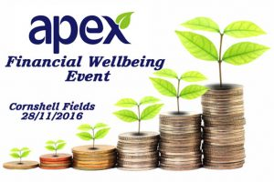 Apex tenants invited to Financial Wellbeing Event
