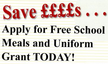 Help with School Meals and Uniform Grants