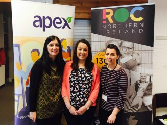 Apex supports new befriending scheme in Rathcoole