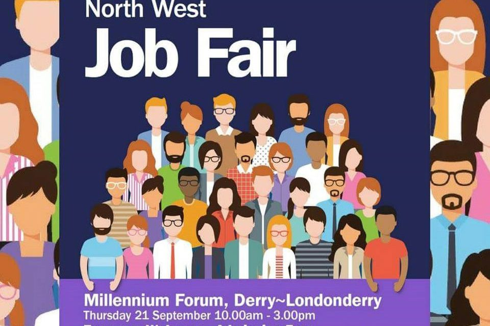 Jobs fair to be held on 21st September in Derry / Londonderry