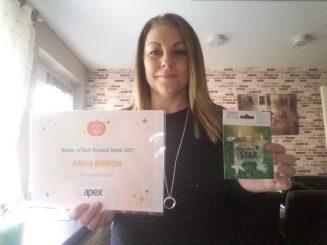 Winner Anna Harkin