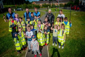 Community Clean Up at Knockena, Derry / Londonderry