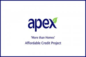 Apex promotes its Affordable Credit Project at the NIFHA conference