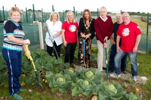 Apex officially opens 65 allotment plots at Ballymagowan