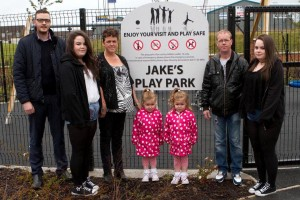 Apex opens Jake's Play Park in memory of local boy