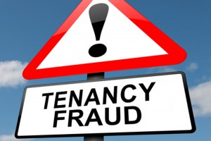 Tenancy fraud alert graphic