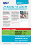 Apex winter advice leaflet