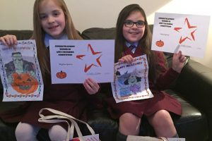 Winners of the colouring competition