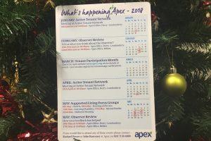 Tenant Participation Calendar