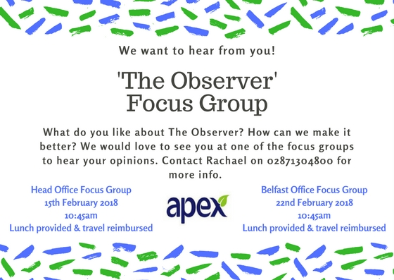 We want to hear from you!