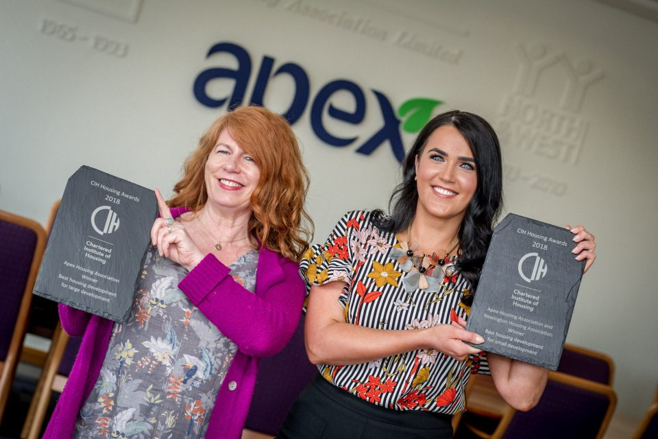 Apex Success at Chartered Institute of Housing Awards