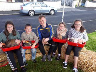 Children taking part in the fun day at Ard Chlochar.