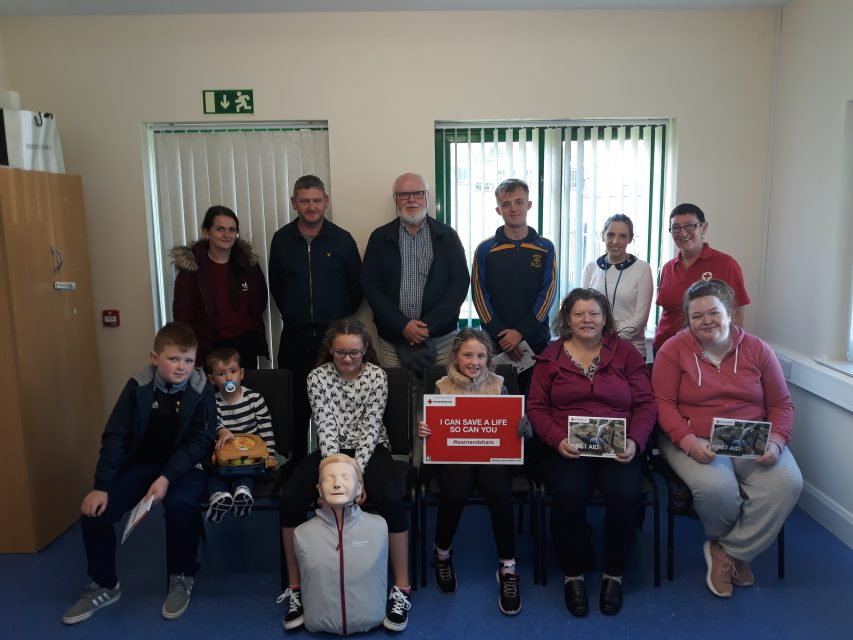 Tenants who participated in the British Red Cross First Aid Training.