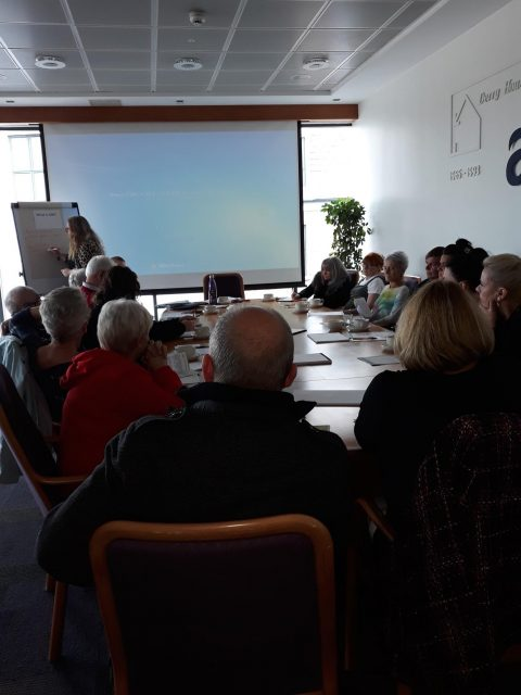 Participants at the Derry/Londonderry focus group.