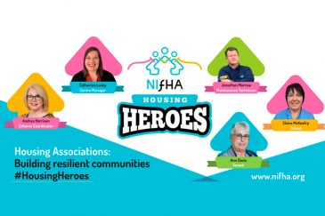 NIFHA Housing Heroes Billboard