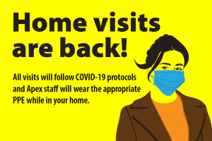 Apex home visits are back following relaxation of Coronavirus restrictions in Northern Ireland