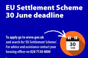 EU Settlement Scheme Deadline 30 June 2021