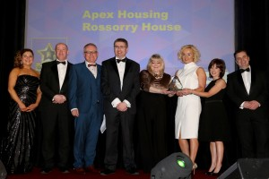 Apex wins the Chartered Institute of Housing's – Working Together award.