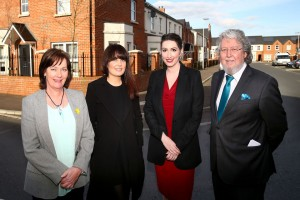 Ministers visit Northern Ireland's first Shared Futures Housing Development