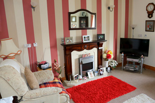 A bungalow living room in St Canices, Eglinton